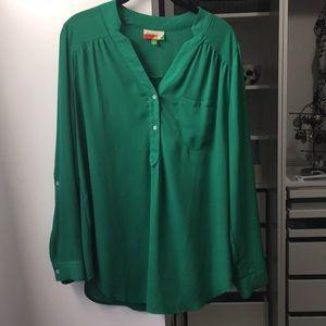 Mod cloth blouse